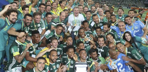 Palmeiras foi campeão brasileiro em 2016