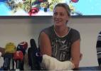 Esfaqueada, Kvitova recupera uso da mão, mas não sabe quando volta a jogar - Reprodução