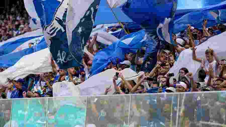 Torcida do Cruzeiro toma as arquibancadas do Independência - Washington Alves/Cruzeiro
