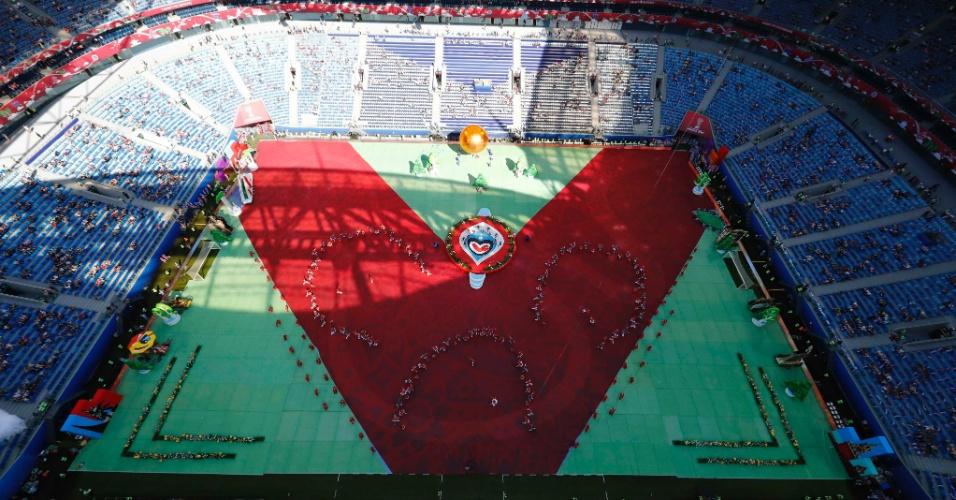Cerimônia de abertura da Copa das Confederações contou com baixo público