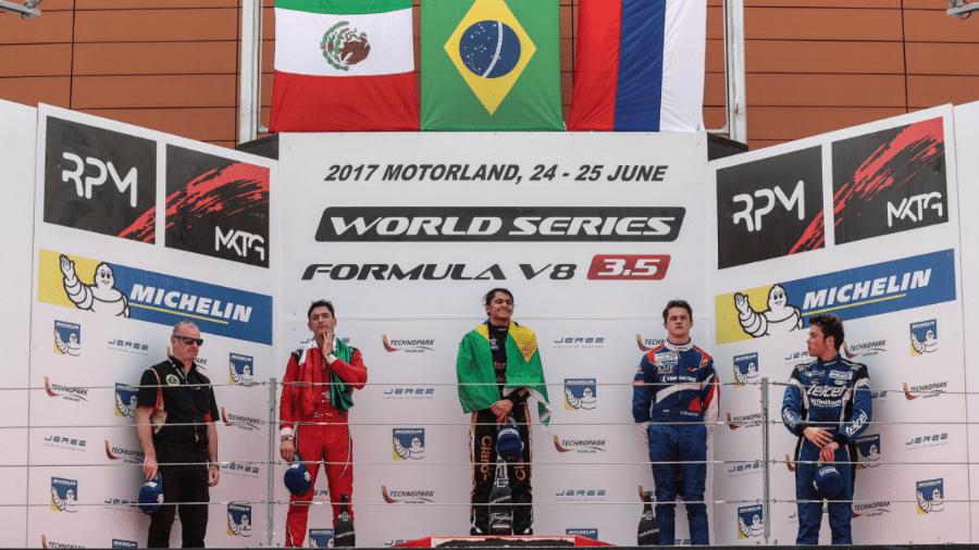 Pietro Fittipaldi comemora aniversário com vitória e liderança na World Series da Fórmula V8 3.5 - Reprodução/Twitter