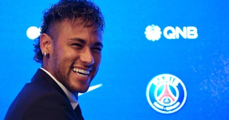 Neymar declarou que projeto do PSG o seduziu