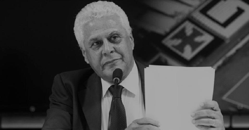 Roberto Dinamite, então presidente do Vasco
