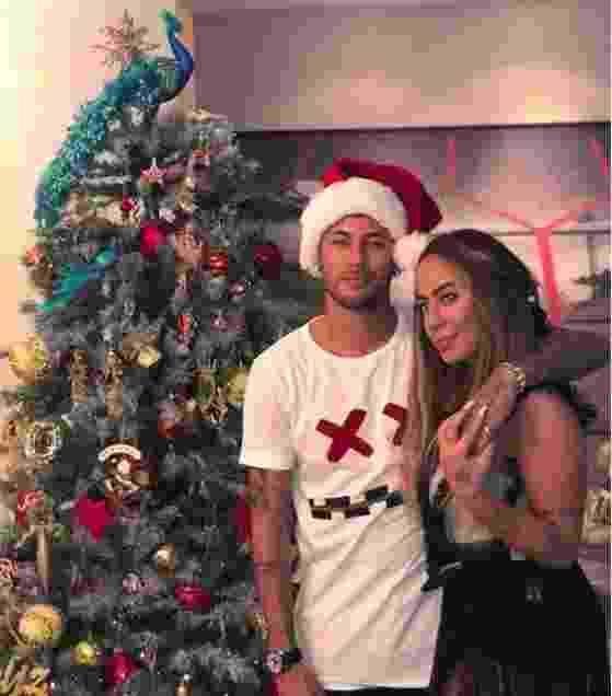 Neymar curtiu o Natal com a família no litoral de São Paulo - Reprodução/Instagram