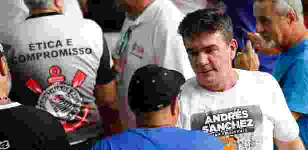 Andrés Sanchez voltou ao comando do Corinthians depois de seis anos - MARCELO D. SANTS/FRAMEPHOTO/ESTADÃO CONTEÚDO