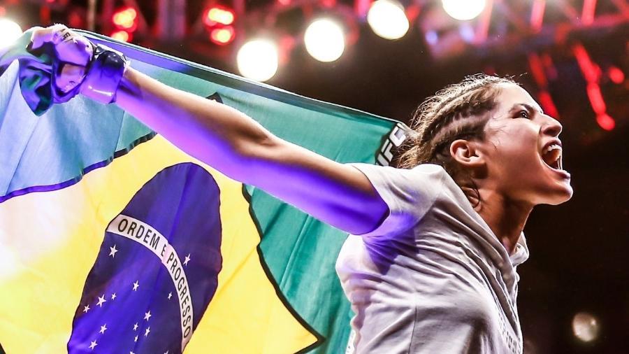 """Polyana Viana vinha pedindo luta no UFC, que só veio """"depois da situação do ladrão"""" - Wander Roberto/Divulgação/UFC"""