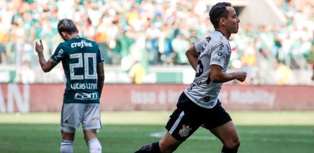 Rodriguinho comemora, Lucas Lima lamenta: preparo para decisão