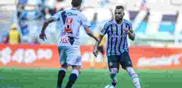 Maicon em ação durante jogo do Vasco contra o Grêmio - Lucas Uebel/Grêmio FBPA