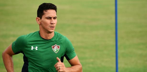Ganso vai vestir camisa do Fluminense pela primeira vez - MAILSON SANTANA/FLUMINENSE FC