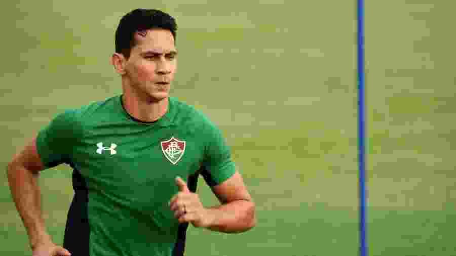 Paulo Henrique Ganso corre em treinamento no Fluminense - MAILSON SANTANA/FLUMINENSE FC