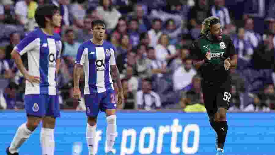 Vilhena comemora gol do Krasnodar contra o Porto - Gualter Fatia/Getty Image