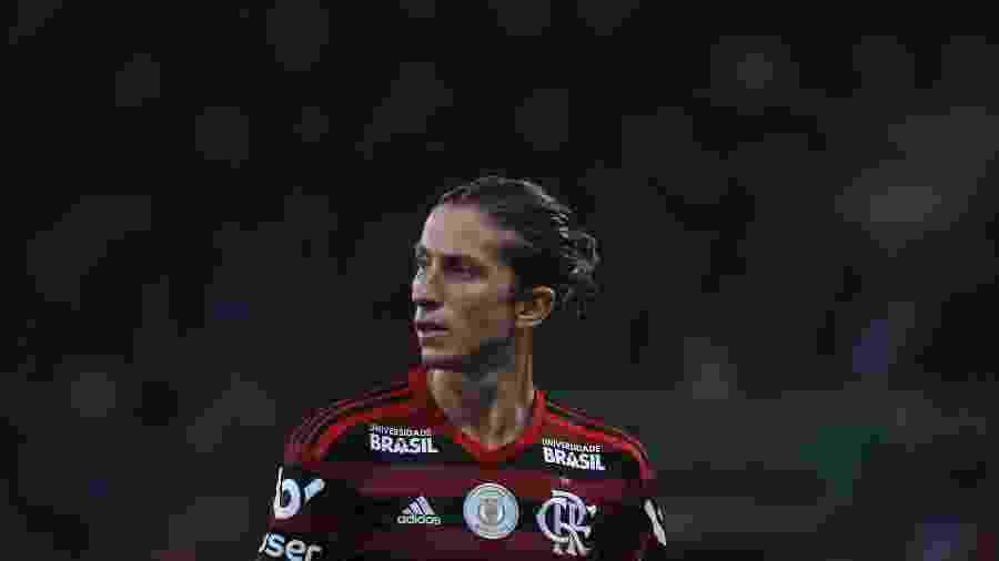 Filipe Luís, do Flamengo - Bruna Prado/Getty Images
