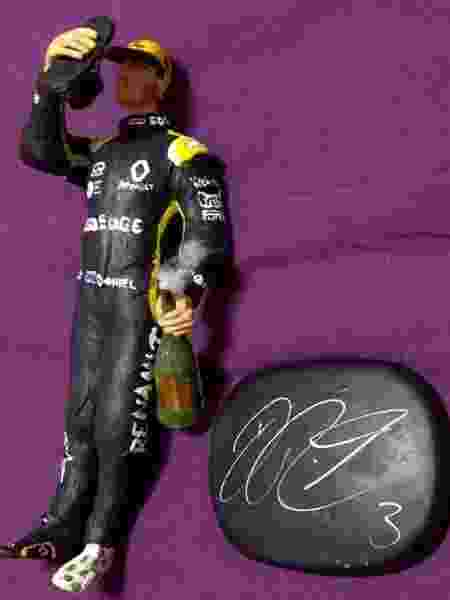 Presentes para Ricciardo - José Edgar de Matos/UOL - José Edgar de Matos/UOL