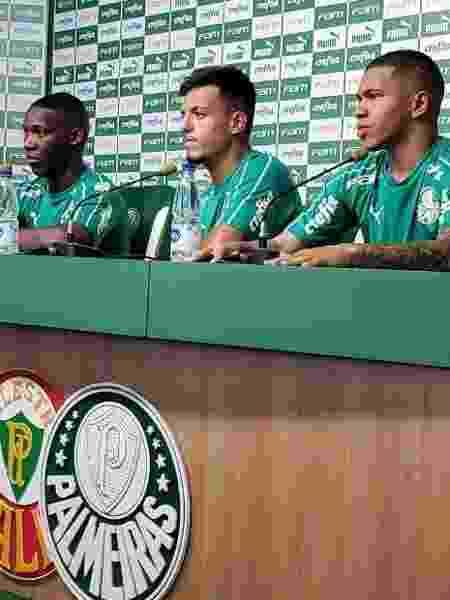 Patrick de Paula, Gabriel Menino e Lucas Esteves são três das promessas atuais do clube - Danilo Lavieri/UOL Esporte - Danilo Lavieri/UOL Esporte