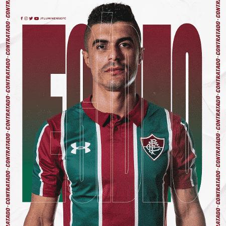 Fluminense anuncia a contratação do lateral Egídio - Reprodução/Twitter