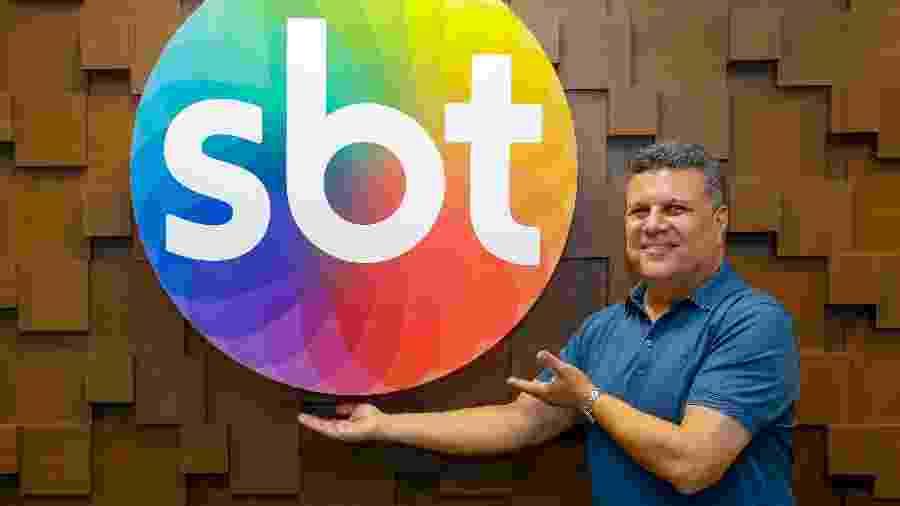 Téo José foi contratado recentemente pelo SBT - Gabriel Cardoso/SBT