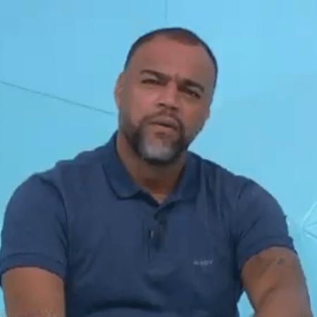 Denílson, comentarista do Jogo Aberto, da TV Band - Reprodução/TV Band