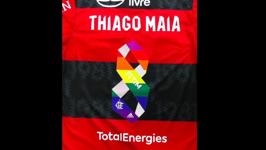 Flamengo usará uniforme com homenagem ao mês do orgulho LGTBQIA+ - Twitter