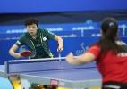Ex-namorada de Zizao esquece o chinês e busca vaga olímpica no Pan - Divulgação/CBTM