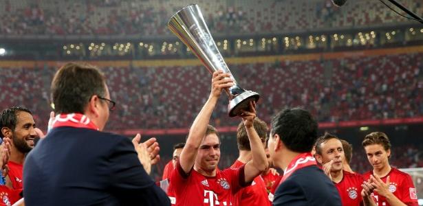 Presença em jogos na China aumentou popularidade do Bayern no país - WU HONG/EFE