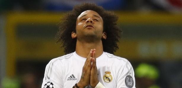 O brasileiro Marcelo deixou sua marca na goleada por 6 a 1 sobre o Betis, neste sábado