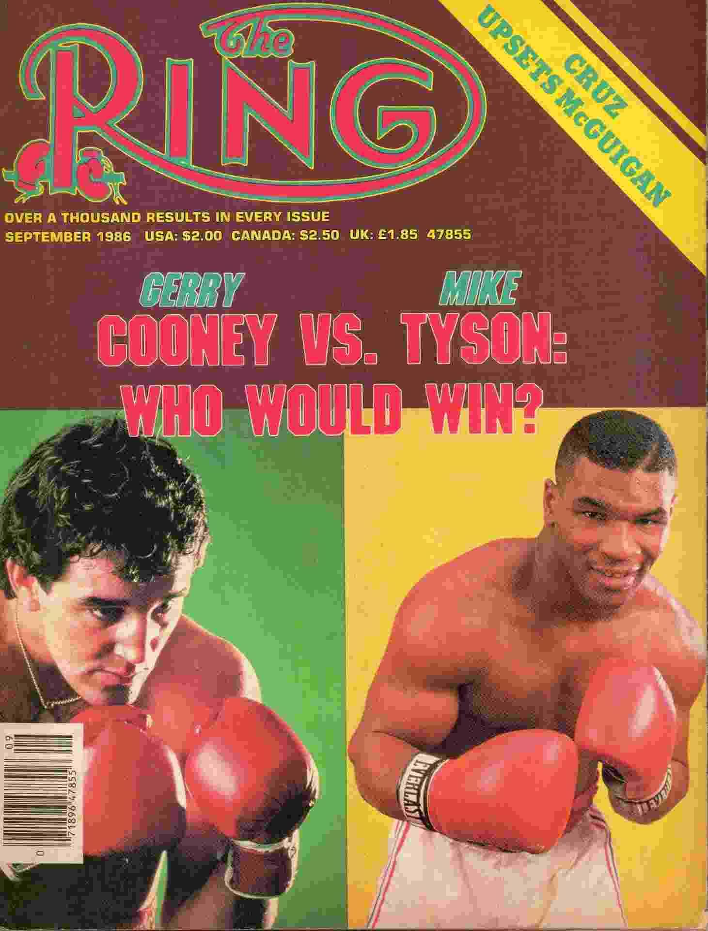 50 anos de Tyson em 50 capas - Reprodução