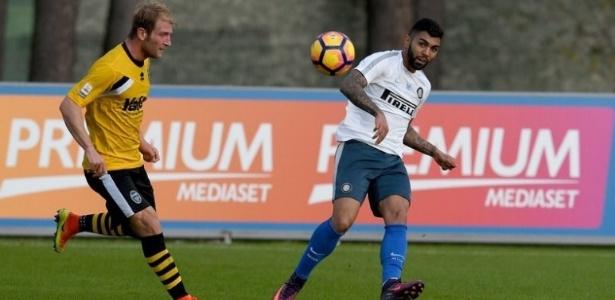 Gabigol tem sido pouco aproveitado na Inter de Milão