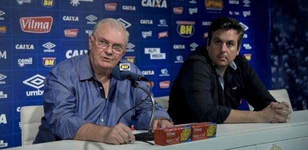 Em reunião com presidente Gilvan, Vicintin comunicou sua saída do Cruzeiro