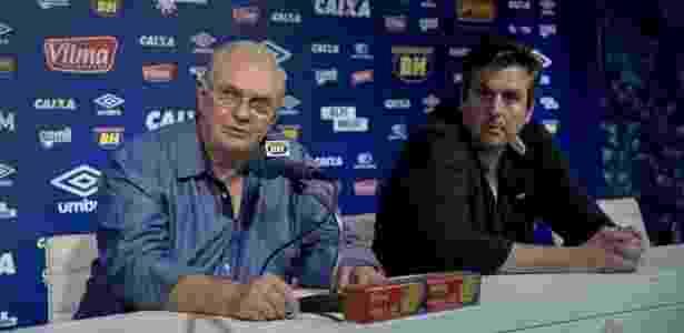 Após fechar o elenco, presidente Gilvan e Bruno Vicintin escolherão o novo diretor de futebol - Washington Alves/Light Press/Cruzeiro