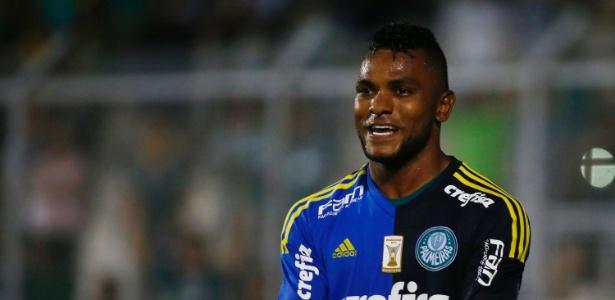Borja, novo atacante do Palmeiras, é uma das novidades dos brasileiros para a Liberta