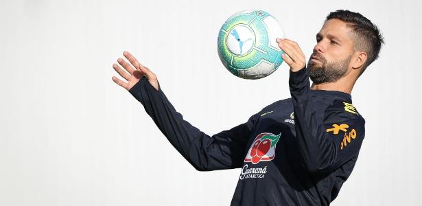Diego, meia do Flamengo, está de volta ao grupo da seleção brasileira