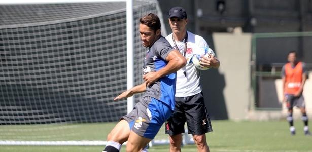 Vasco treina para enfrentar o Fluminense nas semifinais do Campeonato Carioca