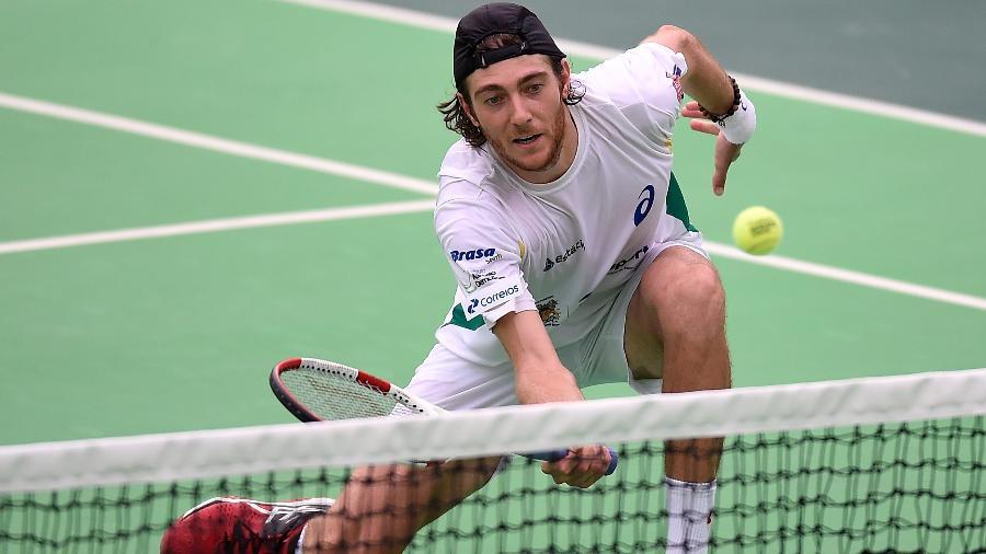 73b8585b20f Brasileiro Demoliner avança de fase no torneio de duplas em Wimbledon
