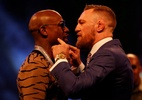 Contra todas as previsões: Mayweather diz que McGregor é favorito no papel - Reuters/Paul Childs
