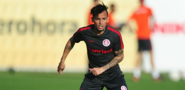 Alemão participa de treinamento do Inter como titular do time para este sábado