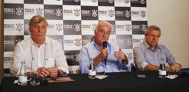 Paulo Garcia (centro) pode ter candidatura impugnada - Divulgação