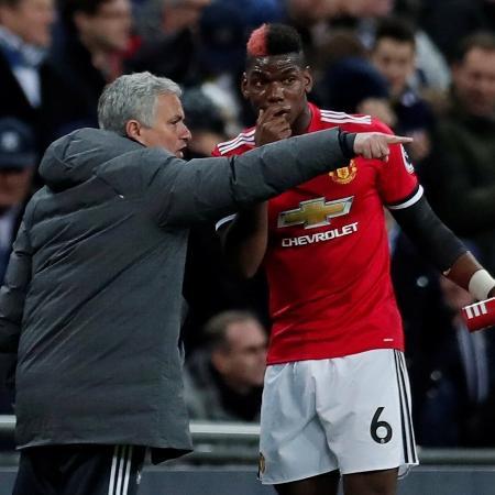 Pogba e José Mourinho são desafetos desde o fim da passagem do técnico pelo Manchester United, em 2018 - Reuters/Andrew Couldridge