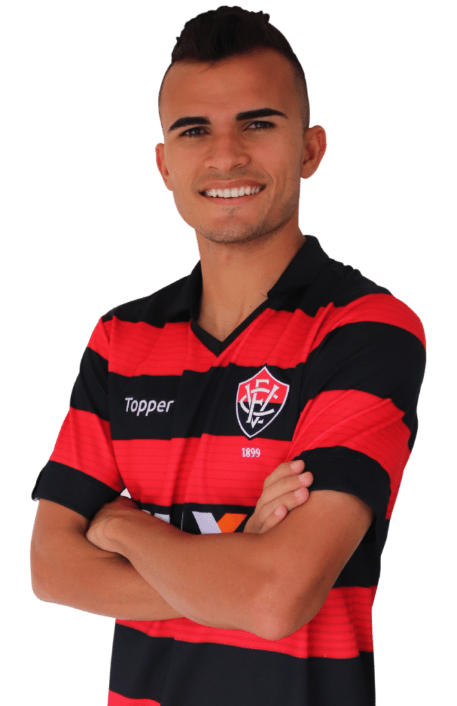 Lucas Fernandes, atacante do Vitória