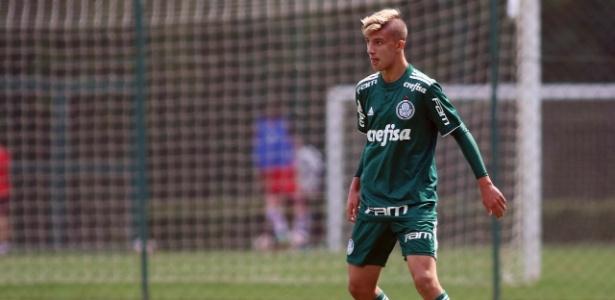Filho de Magrão está nas categorias de base do Palmeiras há dois anos - Arquivo pessoal/Magrão