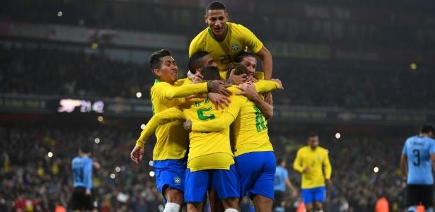 Seleção brasileira vai tentar o título em casa - Mike Hewitt/Getty Images