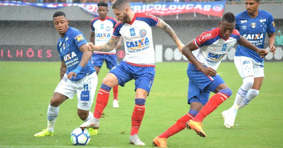 Bahia e Cruzeiro se enfrentam pela 38ª rodada do Campeonato Brasileiro 2018