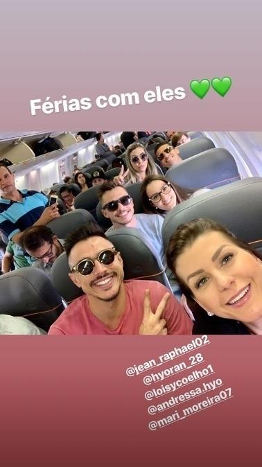 Willian Bigode, Jean e Hyoran, todos do Palmeiras, passarão férias juntos, em Trancoso, na Bahia