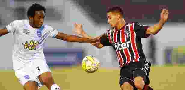 Antony foi o melhor do Tricolor contra o Rio Claro na segunda fase da Copinha - Thiago Calil/AGIF - Thiago Calil/AGIF