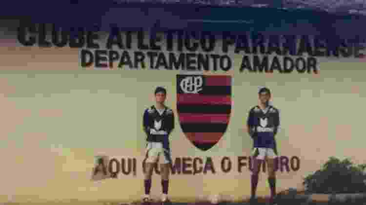Willians Atlético Paranense Athletico - Arquivo Pessoal - Arquivo Pessoal