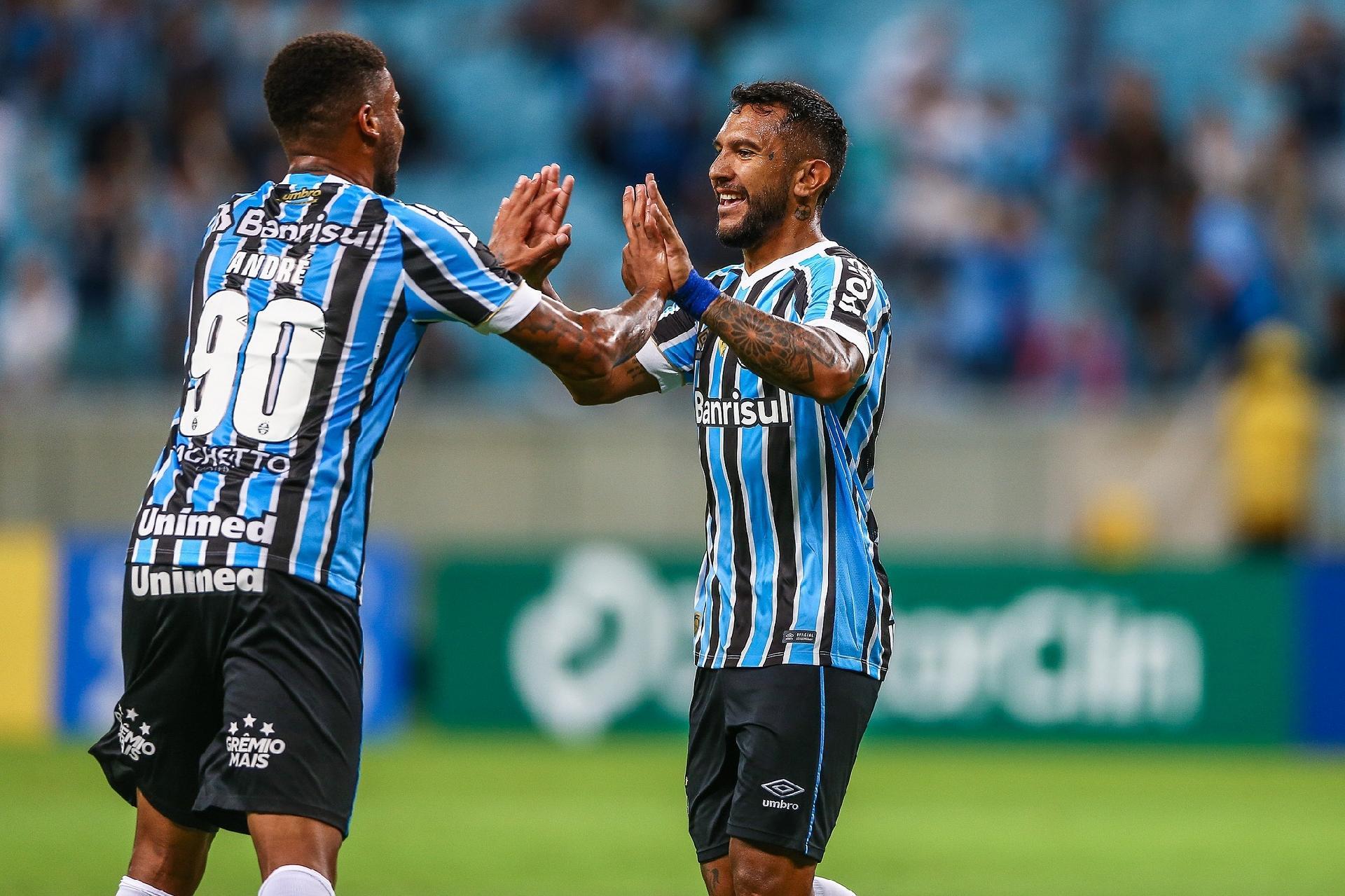 c0020e53f7875 Grêmio  André desencanta na estreia de Tardelli e Tricolor bate o São  José-RS