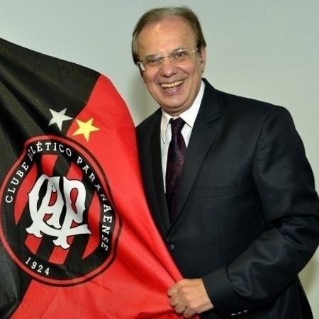 Luiz Sallim Emed, presidente do Atlético-PR - Gustavo Oliveira/Site Oficial do Atlético-PR