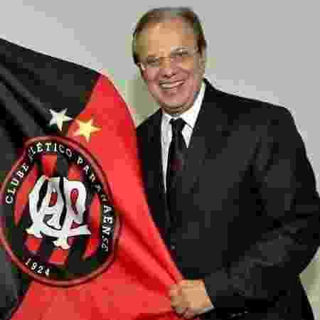 Luiz Sallim Emed também já havia sido punido pelo TJD-PR - Gustavo Oliveira/Site Oficial do Atlético-PR