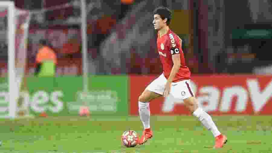 Rodrigo Dourado tem atuado com dores e pode desfalcar o Inter por mais tempo - divulgação/Internacional