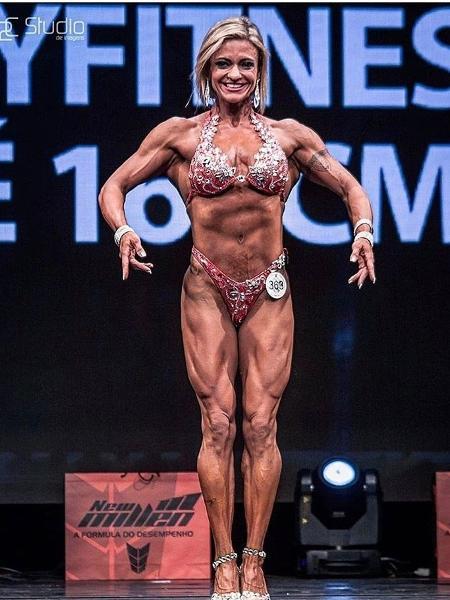 Carla Lobo, atleta do fisiculturismo do Brasil no Pan - Reprodução/Instagram