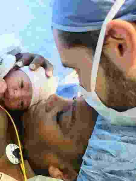 Serena Williams mostra foto de nascimento da filha - Reprodução/Instagram